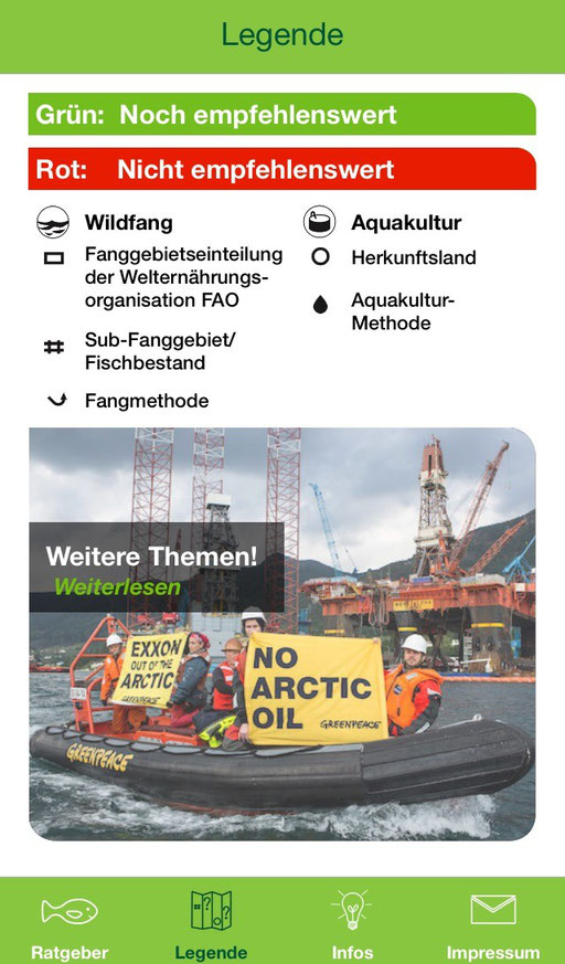 Greenpeace Fischratgeber - mycleanlife