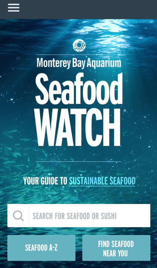 Seafood Watch Fischratgeber - mycleanlife