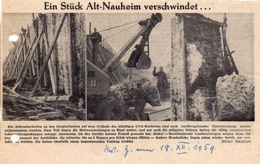 Wetterauer Zeitung, 18. Dezember 1959
