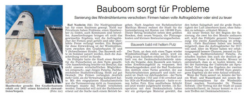 Wetterauer Zeitung, 02. November 2016