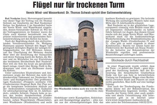 Wetterauer Zeitung, 12. Dezember 2013