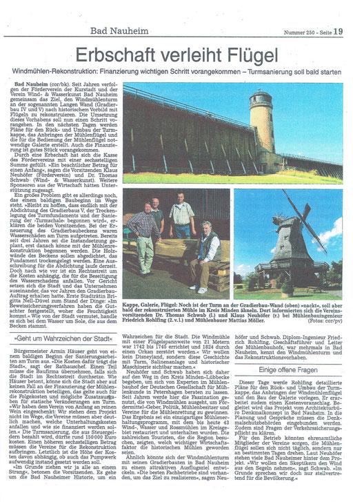 Wetterauer Zeitung, 28. Oktober 2014