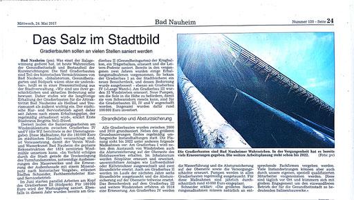 Wetterauer Zeitung, 23. Mai 2017