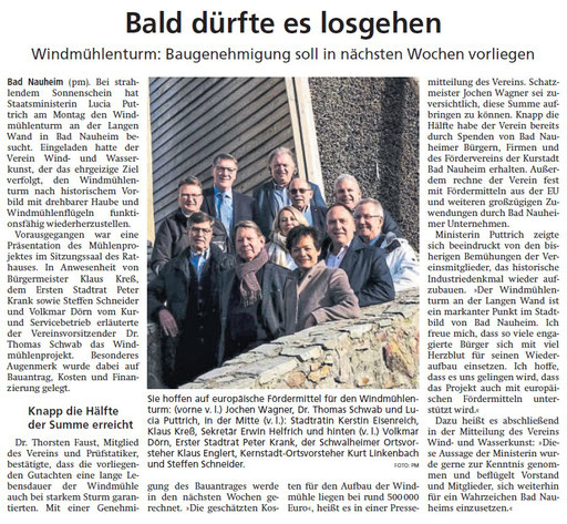Wetterauer Zeitung, 07. Februar 2020