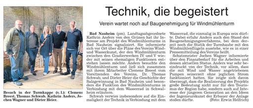 Wetterauer Zeitung, 02. Oktober 2019