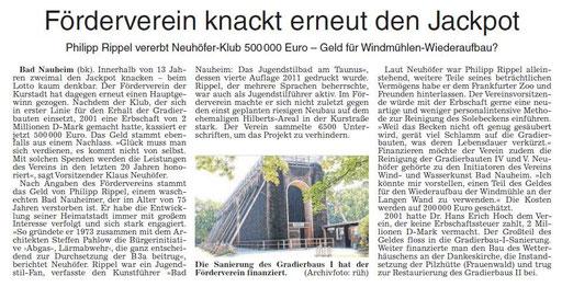 Wetterauer Zeitung, 16. August 2014