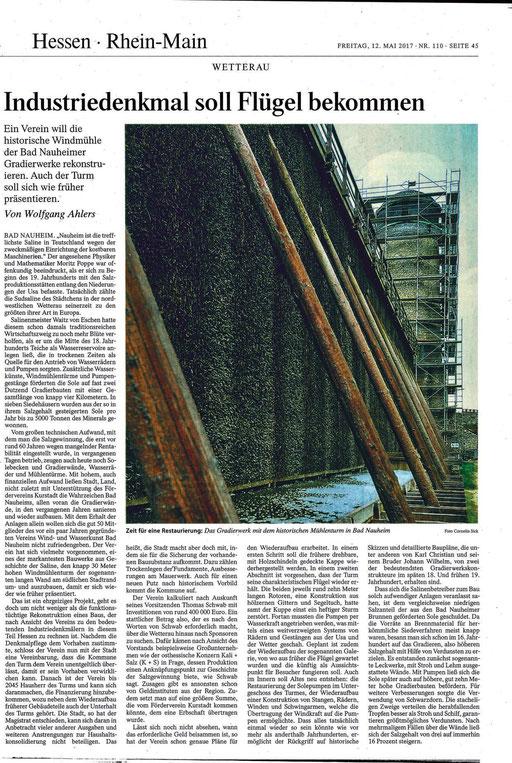 Frankfurter Allgemeine Zeitung, 12. Mai 2017