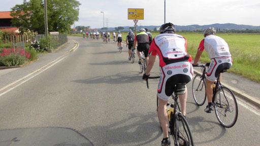 Training mit der RSG Heddesheim