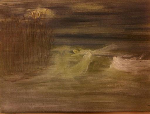 21. Nevelheksen, 30x40 cm, acryl op canvas
