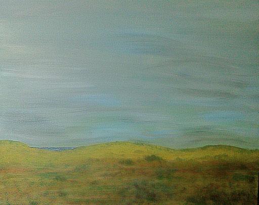 44. In de Duinen, 50x60 cm, acryl op canvas
