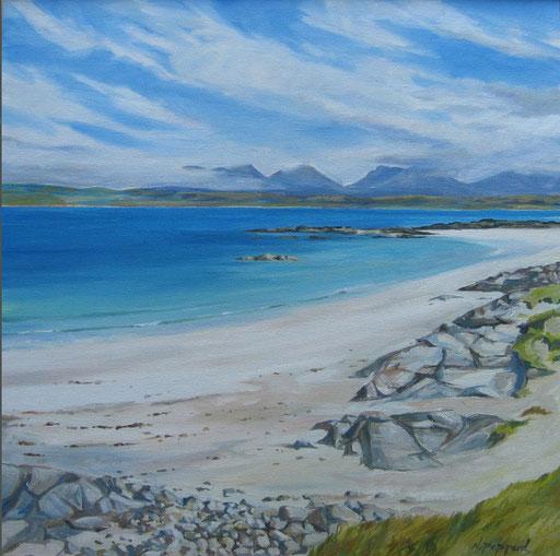 MANNIN BAY, oil on canvas