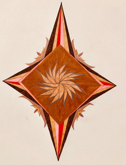 Energy Yantra - 5 States - Awake, Dreaming, Dreamless, Deep Sleep, Turiya