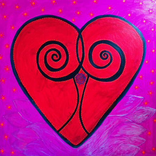 Cosmic Heart Spiral (Click here)