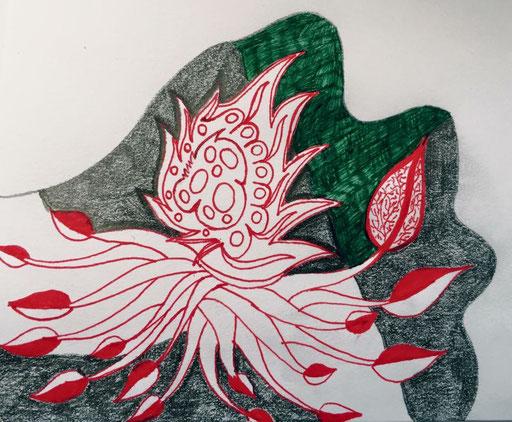 Kundalini doodle
