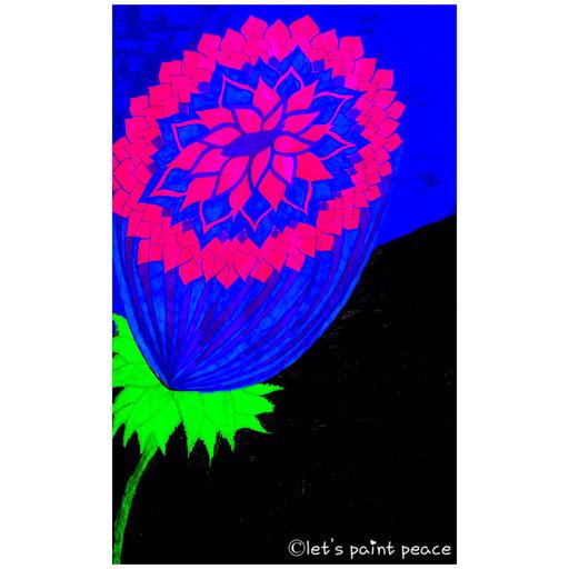 Cosmic flower Blossoming