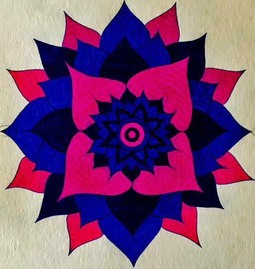 Mandala - Going in depths of Psychology