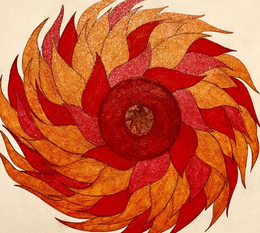 Chimera inspired ~ Chimera Mandala #chimera #vibes #chimeramandala #letspaintpeace #mythology