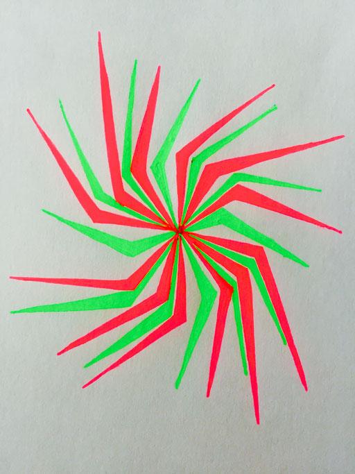 Sacred Geometry - Fluroscence