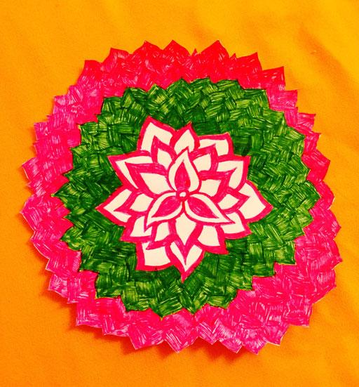 Blossoming Mandala 1