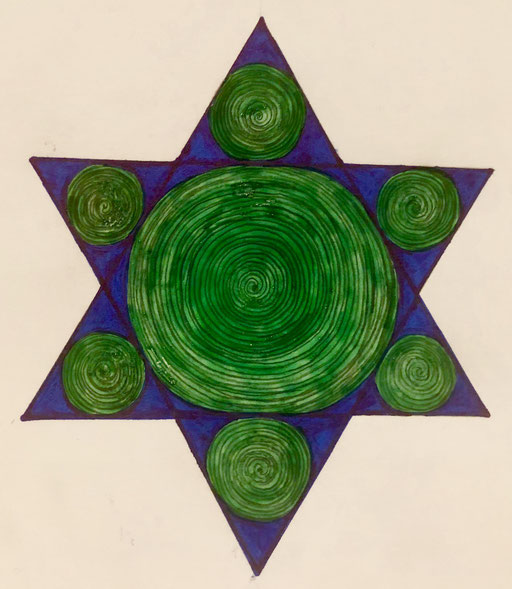 #starrynight #spiral #infinity #star