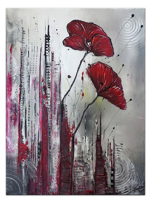 B75 City Flowers - 50x70