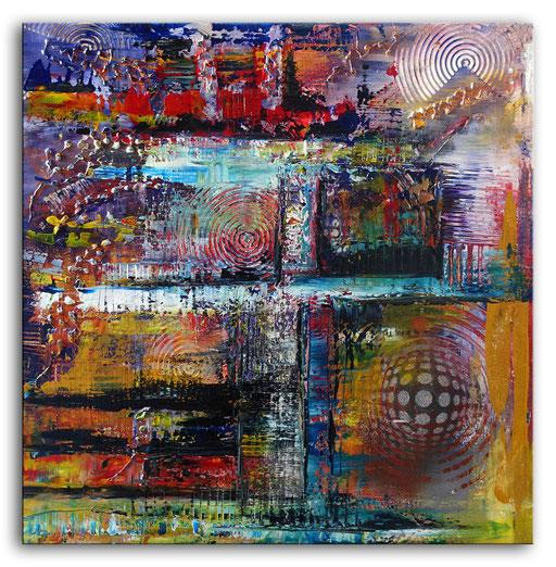 229 Verkaufte abstrakte Malerei - Gipfelstürmer