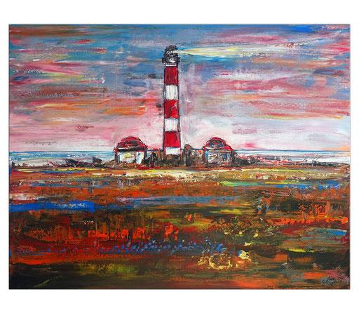 L 35 Leuchtturm Sonnenuntergang Küsten Bilder Gemälde