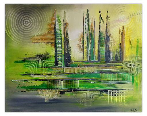 Abstrakte Kunstbilder verkauft 418