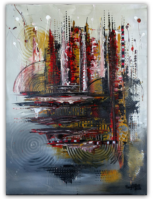 234 Verkaufte abstrakte Malerei