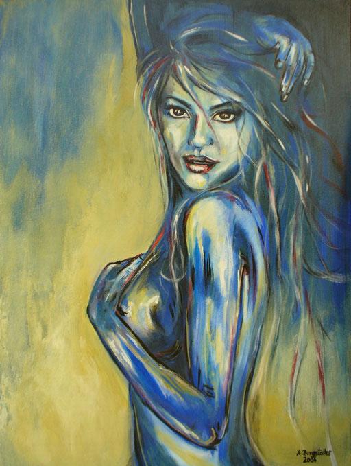 E 5 - Erotikbilder Acryl - Schamhaft