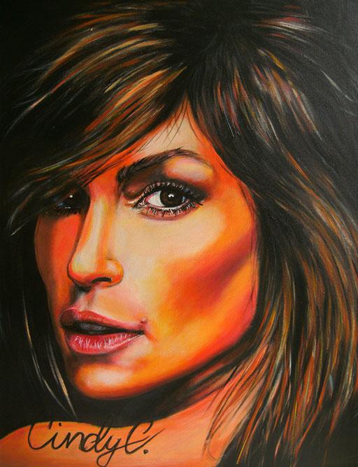 P 10 - Künstler Portrait Gesichter Gemalt -