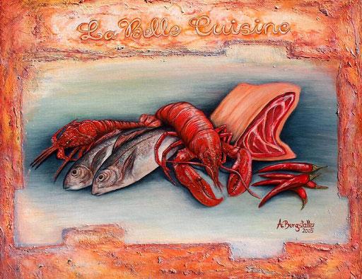 T 23 - Tierbilder Malerei Tiere - Cuisine