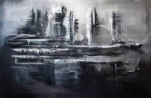 157 Verkaufte Bilder abstrakt - Schwarz Weiß