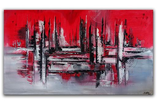 227 Verkaufte abstrakte Malerei - Crossover