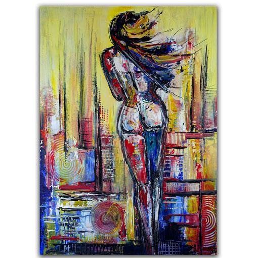 E 42 - Erotik Bild Acryl - 65x90