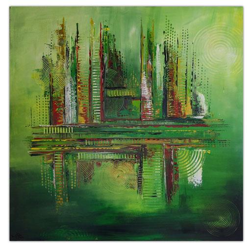 Abstrakte Kunstbilder verkauft 417