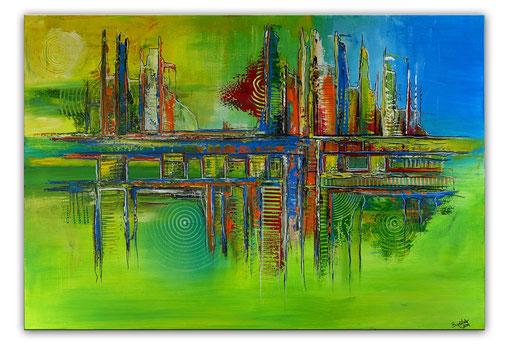 Abstrakte Kunst verkauft 403