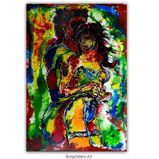 E 52 - Liebespiel Erotische Kunst Malereil - 70x100