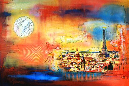 S 18 - Stadtbilder auf Leinwand - Paris xxl