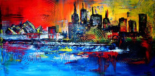 S 25 - Stadtbilder auf Leinwand - Sydney