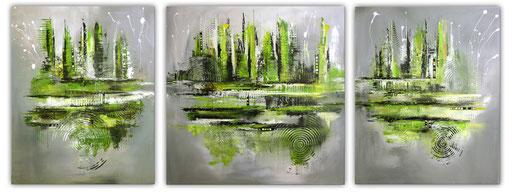 132 Verkaufte abstrakte Bilder - Navigation xxl - mehrteilig