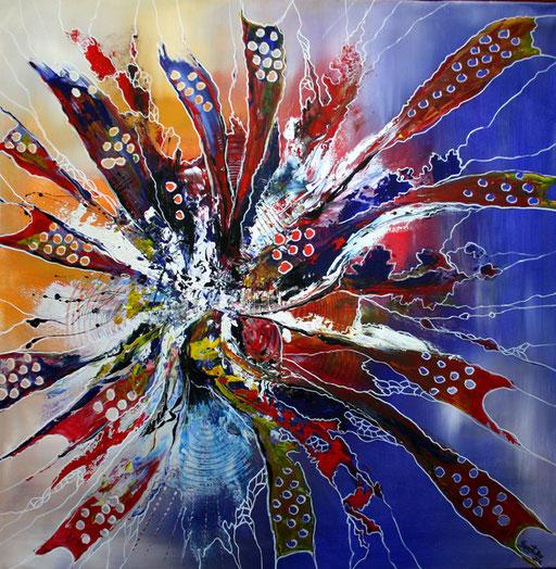 186 Verkaufte Bilder abstrakt - TAbula Rasa gemalt