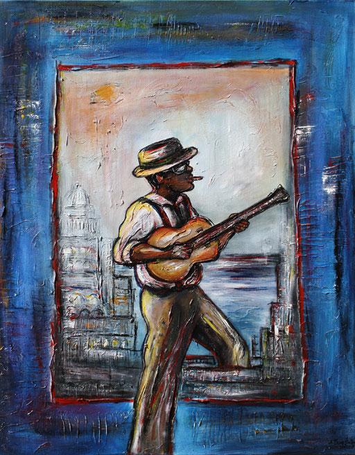 F 38 - Figuerliche Malerei - Figurative Wandbilder - Kuba