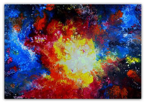 338 Urknall Malerei Wandbild Gemälde