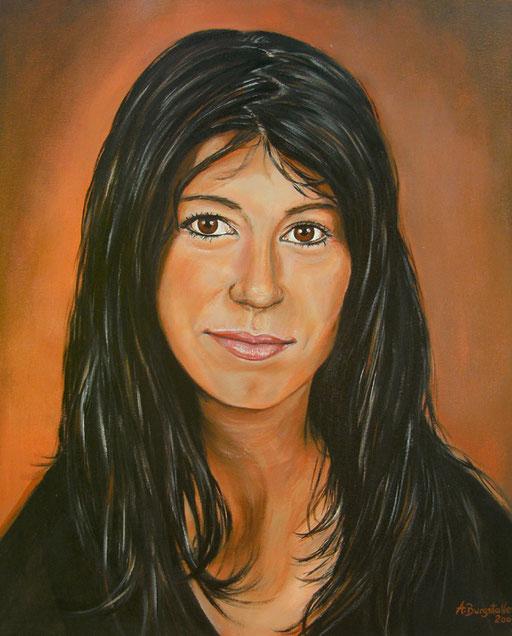 P 38 - Künstler Portrait Gesichter Gemalt - Simone