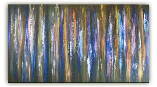 116 Verkaufte abstrakte Bilder - Lindner - Farbige Linien