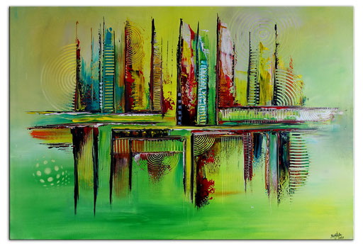 Abstrakte Kunstbilder verkauft 425