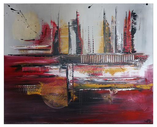 Abstrakte Kunstbilder verkauft 421