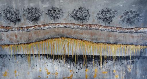 L 26 abstrakte Bäume Strukturbild