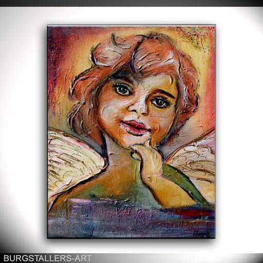 P 12 - Künstler Portrait Gesichter Gemalt - Engel